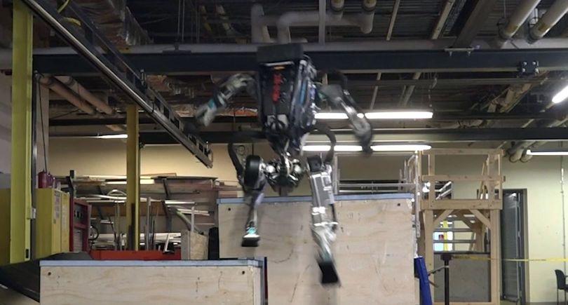 Robot – Atlas –Parcours - 2