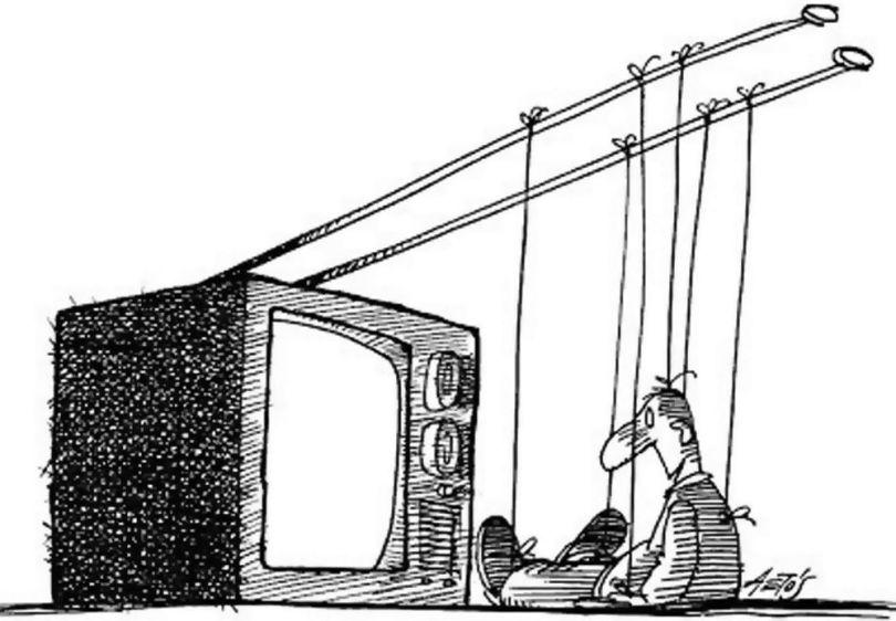 Télévision - Manipulation