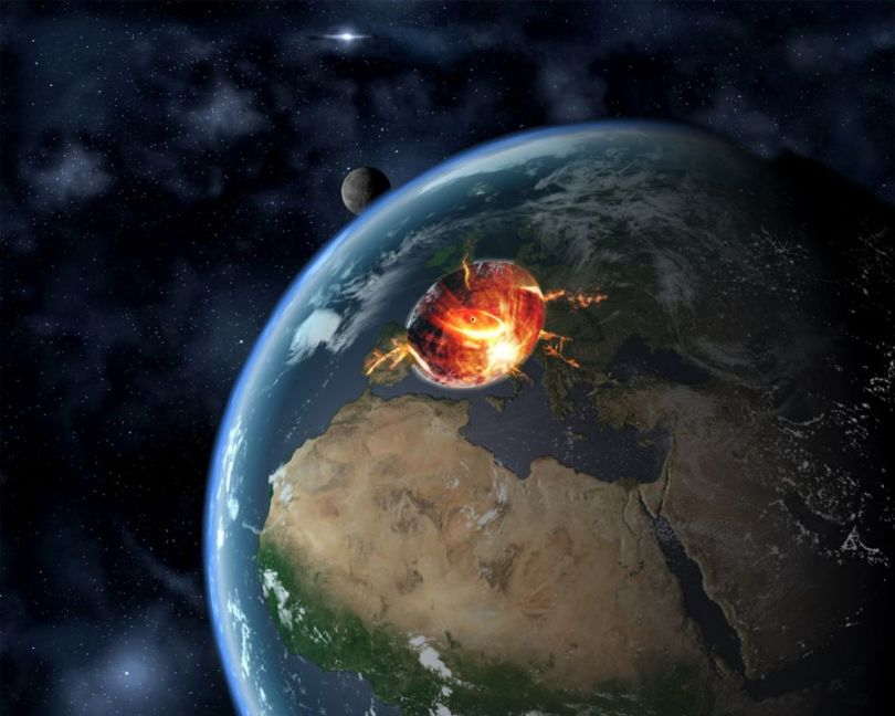 Trou noir - Terre - 1