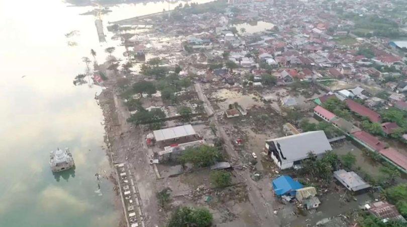 Tsunami – Palu - Indonésie