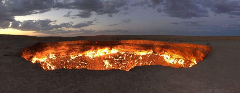 Turkménistan - Porte de l'Enfer - 1