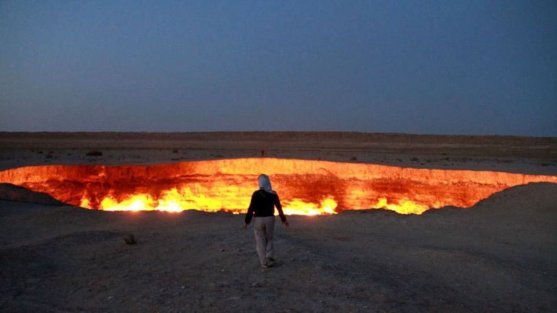 Turkménistan - Porte de l'Enfer - 2