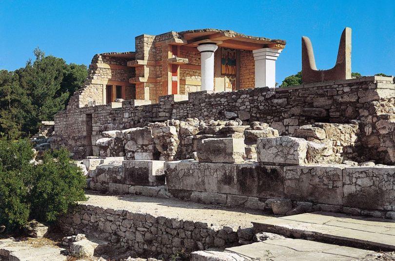Cornes de la consécration - Palais de Knossos - Crète