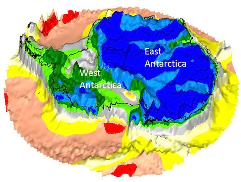 GOCE - Antartica