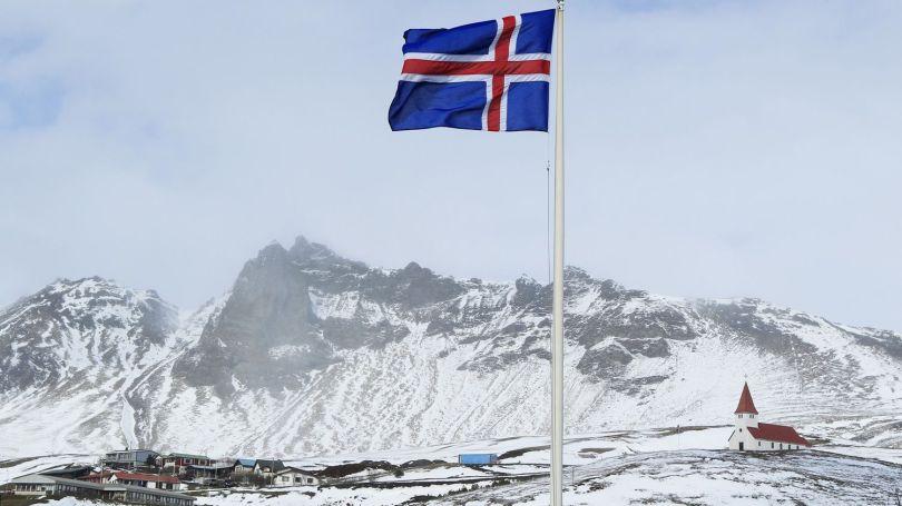 Islande - Drapeau