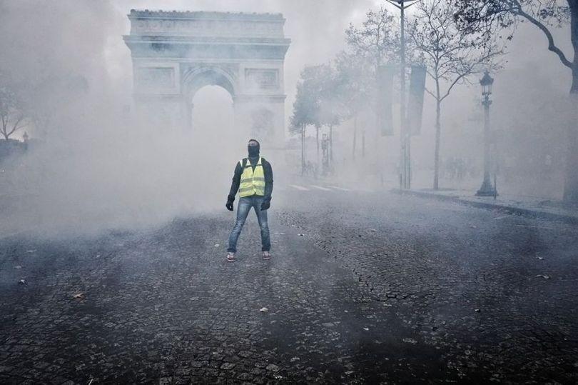 Manifestant - Gilets Jaunes