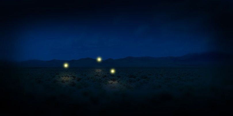 Marfa lights – Texas - 2