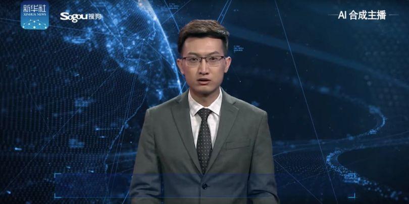 Présentateur Tv – Avatar – Chine - 1