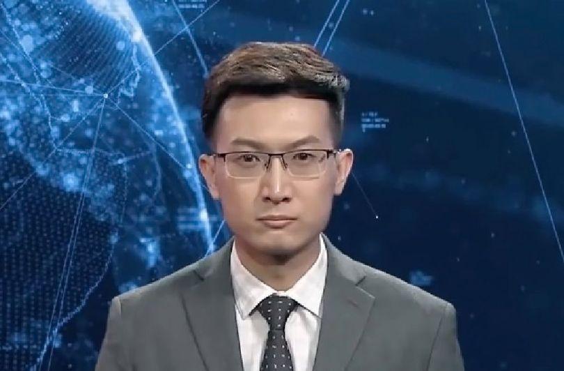 Présentateur Tv – Avatar – Chine - 2