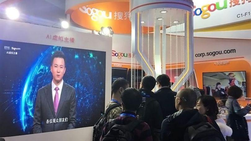 Présentateur Tv – Avatar – Chine - 3