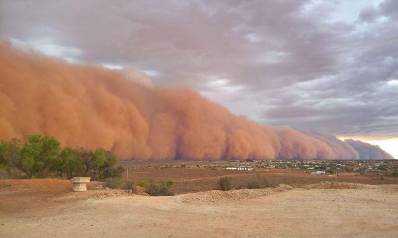 Tempête de sable – Australie - 1