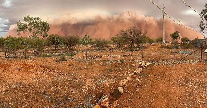 Tempête de sable – Australie - 2