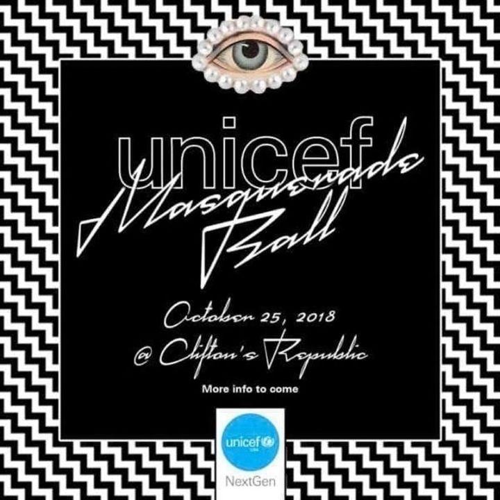 UNICEF - Bal masqué – Illuminati – 8