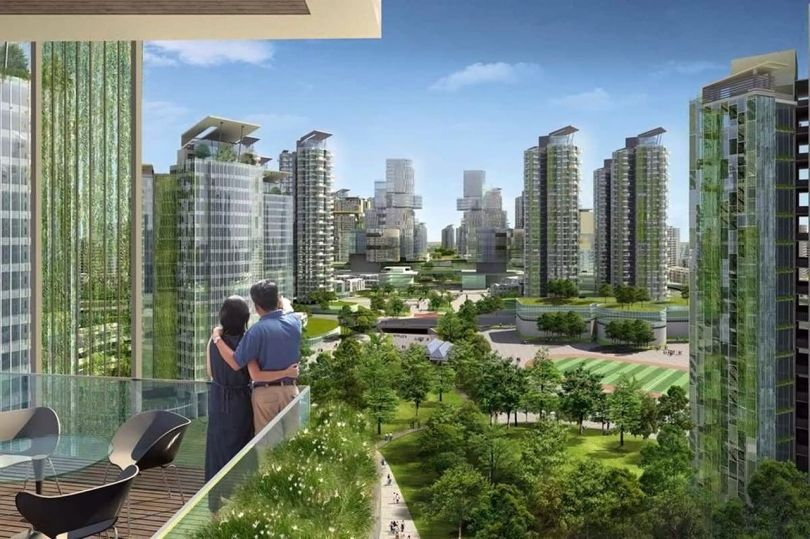 Ville futuriste - Energie verte