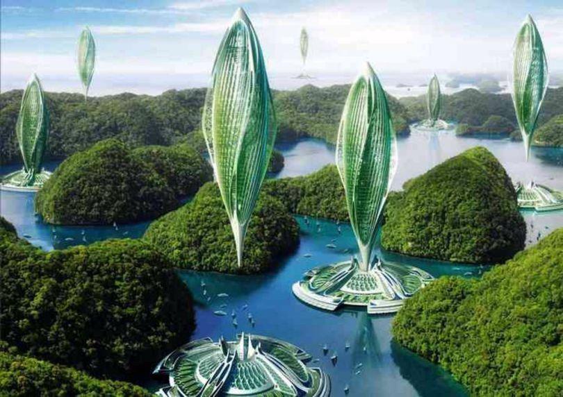 Ville - Futuriste - Hydrogenase – Energie - 1