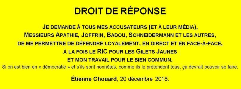 Étienne Chouard – Note - 1