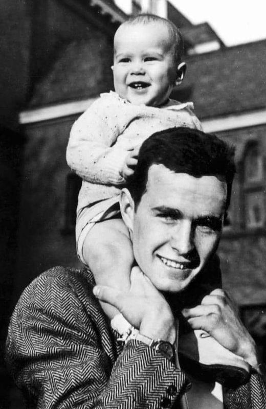 Bush et son fils