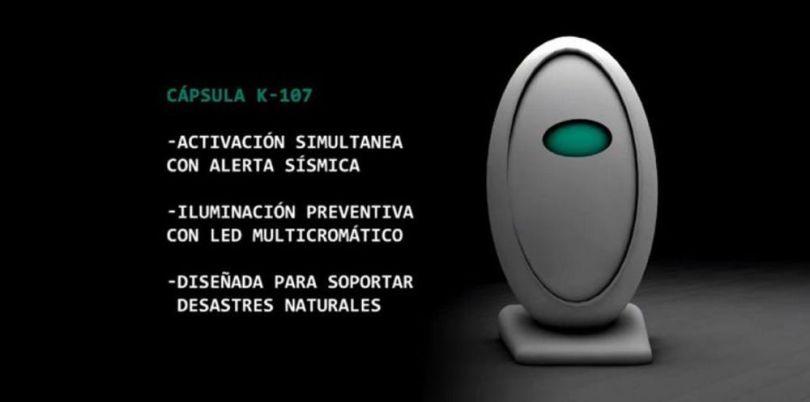 Capsule de survie - Egg K-107 - 5