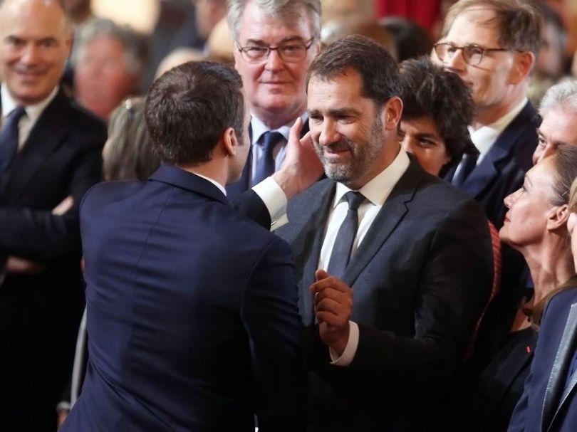 Emmanuel Macron - Christophe Castaner