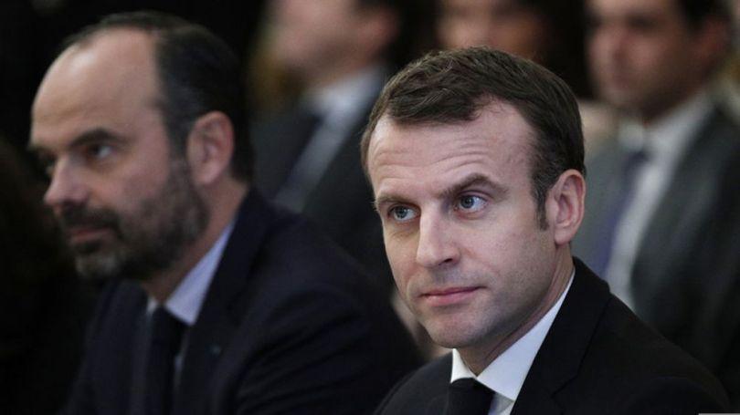 Emmanuel Macron - Edouard Philippe