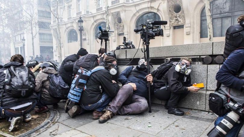 Gilets Jaunes – Journalistes - 1