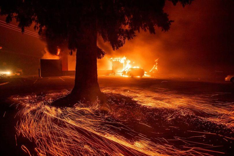 Incendie - Californie - Paradise - 1