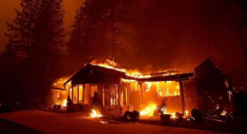 Incendie - Californie - Paradise - 2