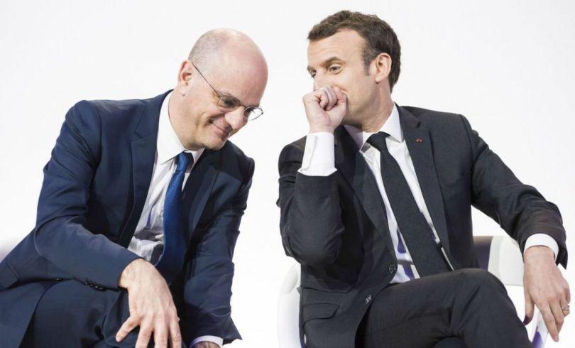 Jean-Michel Blanquer – Emmanuel Macron