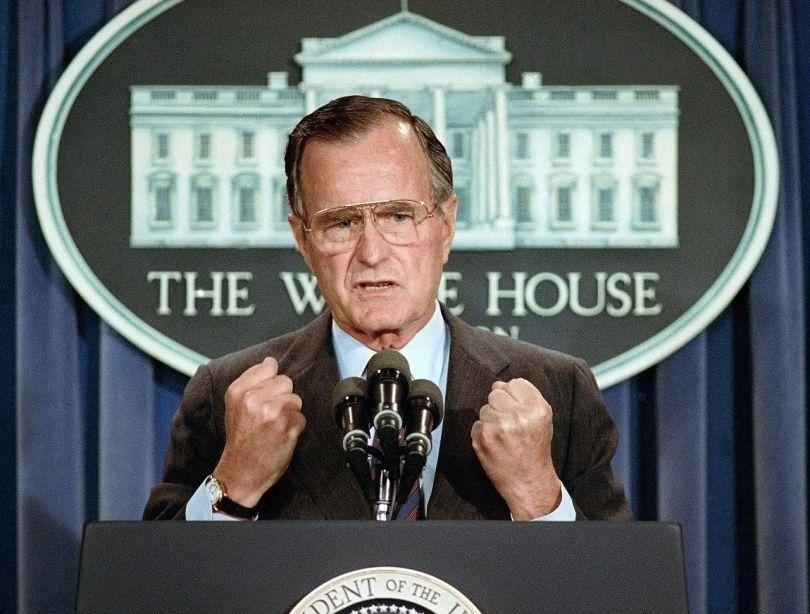 President George HW Bush - 1