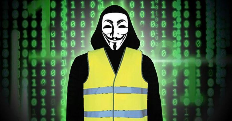 Anonymous - Gilets Jaunes