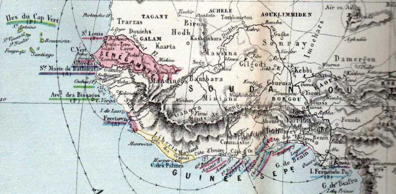 Carte géographique fictive - Afrique - 1