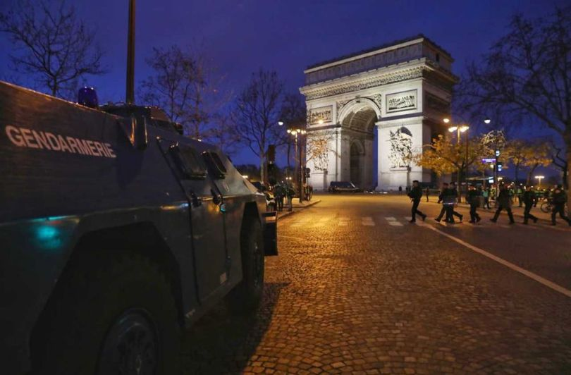 Gendarmerie - Véhicule blindé