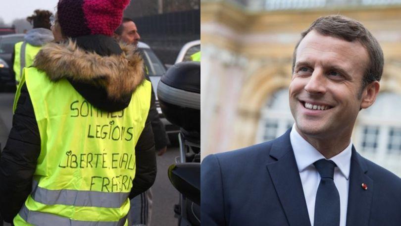 Macron - Glet Jaune