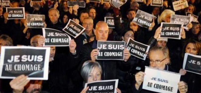 Manifestant - Pancarte - Chômage