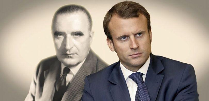 Pompidou - Macron