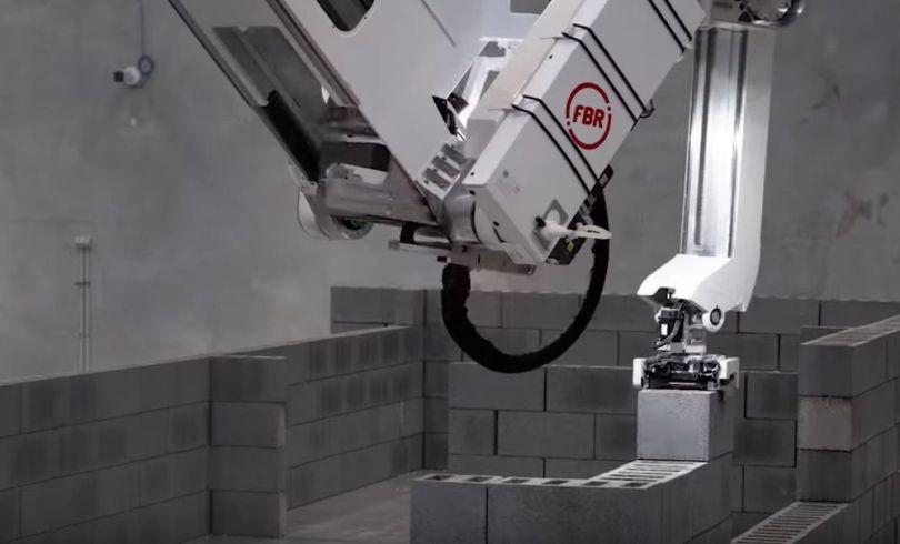Robot maçon – 1