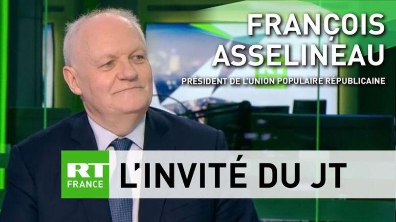 françois asselineau - rt france