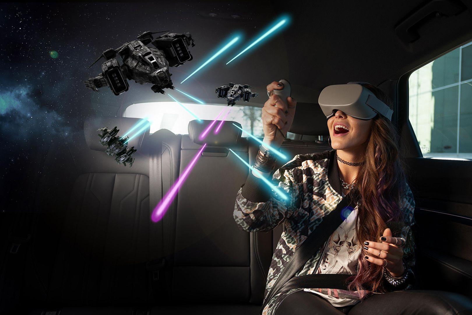 Virtual Reality : Holoride, un concept de réalité virtuelle pour la voiture ! [Vidéo]