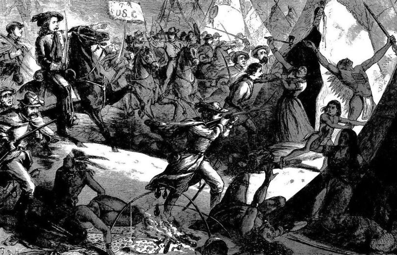 massacre - lieutenant-colonel george custer