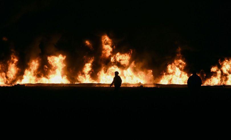 mexique - explosion – oléoduc - 1