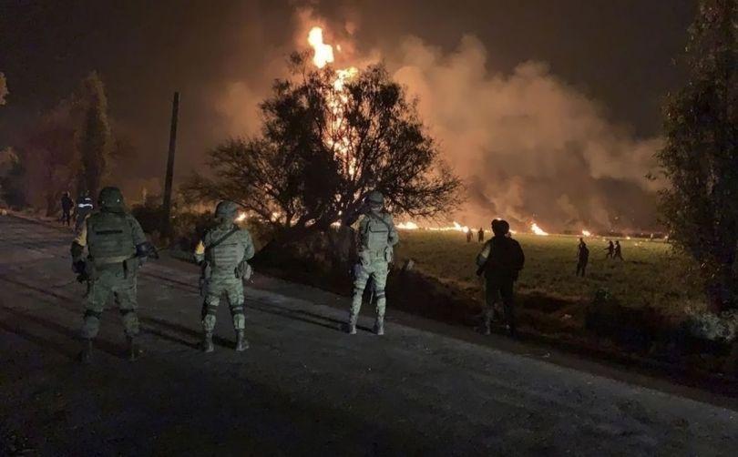 mexique - explosion – oléoduc - 3