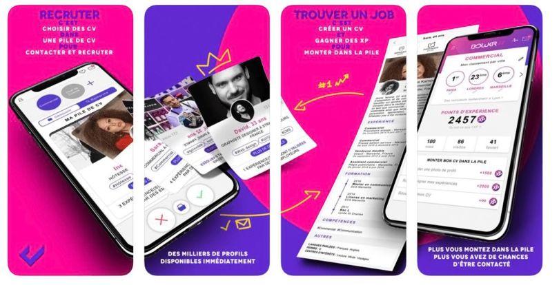 pôle emploi – cv – app – payant - 1