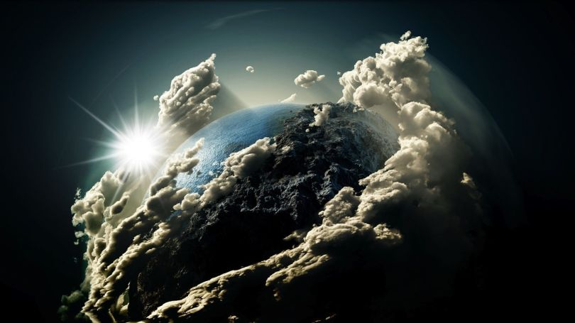 planète nuage