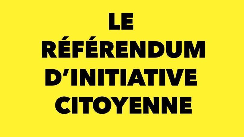 ric - référendum d'initiative citoyenne - 2