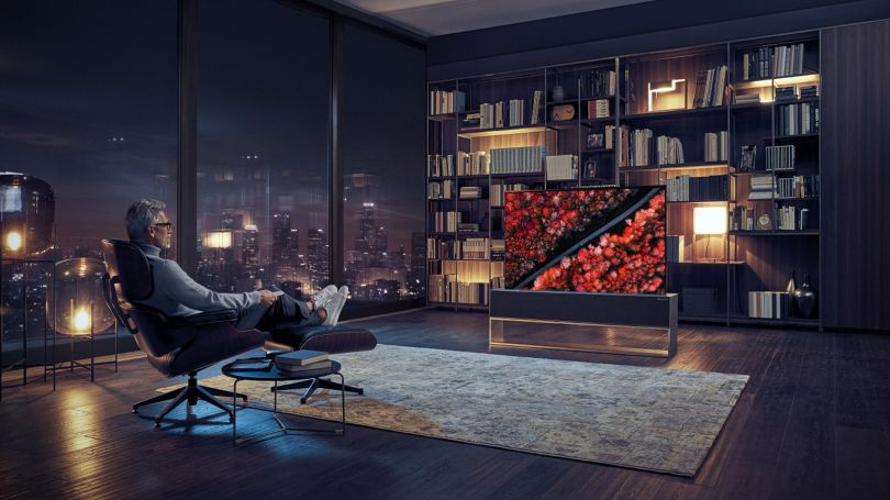 télévision - lg signature oled rollable tv - 1