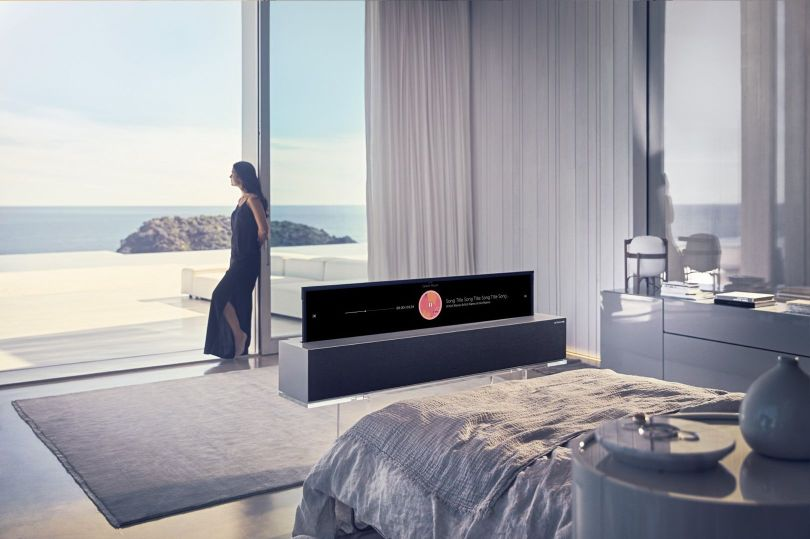 télévision - lg signature oled rollable tv - 2