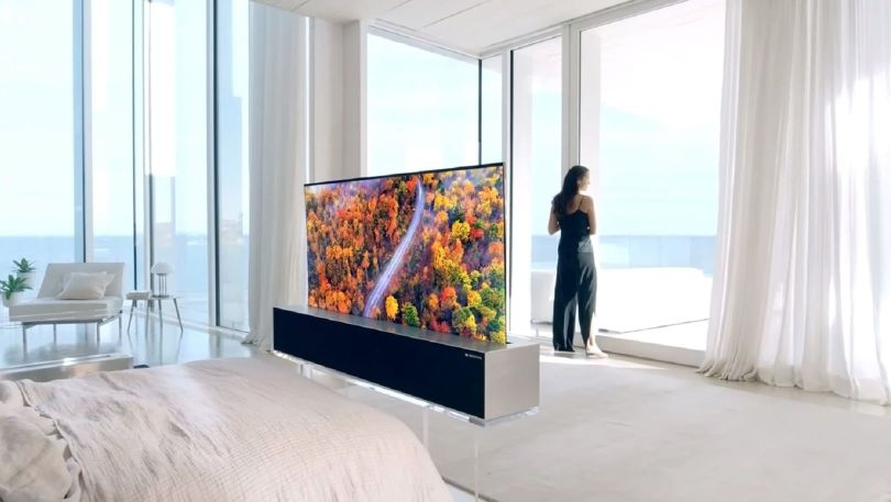 télévision - lg signature oled rollable tv - 3