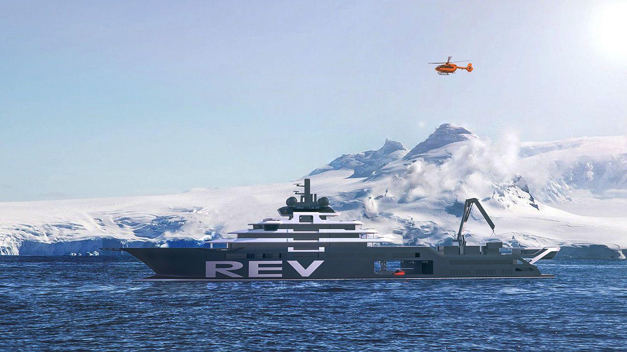 Un milliardaire norvégien utilise sa fortune pour construire un yacht qui collectera 5 tonnes de plastique par jour dans les océans [Vidéos]