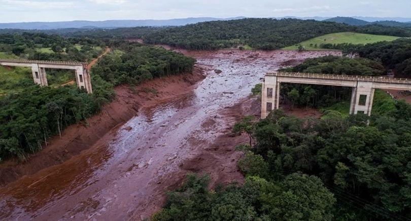 Brésil - Barrage minier – Brumadinho - B