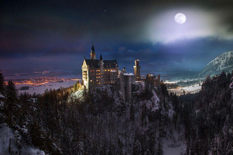 Château – Castle – Neuschwanstein - 1
